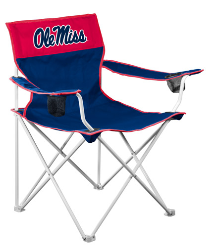Perfect Ole Miss Rebels Big Boy Tailgating Lawn Chair