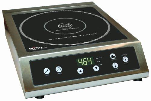 Burton ProChef 3000 Watt Commercial Grade Restaurant Induction Cooktop  Cooker