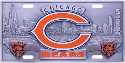 Semi Mud Flaps >> Chicago Bears License Plates - NFL License Plates