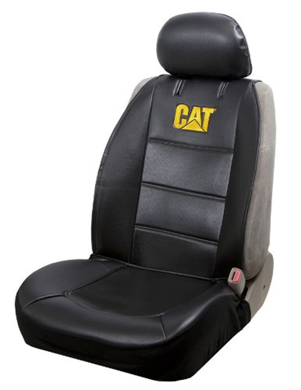 Caterpillar CAT Universal Sideless Car Truck Seat Covers W
