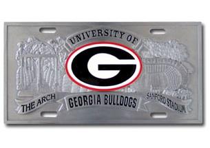 Georgia Bulldogs License Plates Georgia Bulldogs License