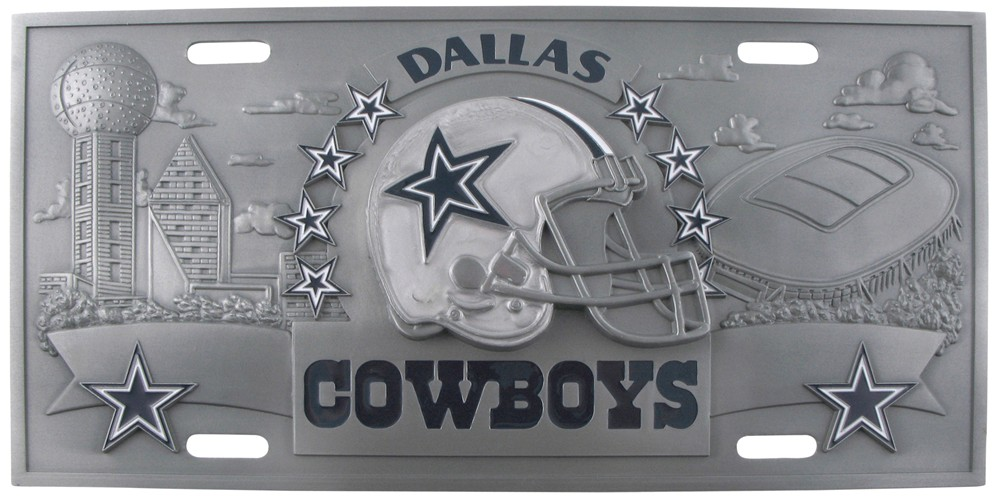 Dallas Cowboys License Plates Nfl License Plates