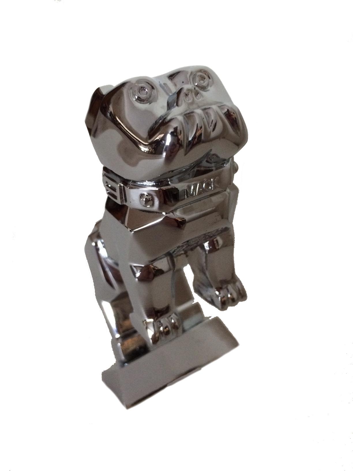 Semi Mud Flaps >> Mack Bulldog Medium Chrome OEM Hood Ornament - Mack Truck ...