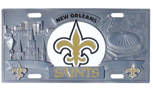 New Orleans Saints License Plates Nfl License Plates