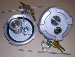 Locking Diesel Fuel Caps Diesel Fuel Theft Devices