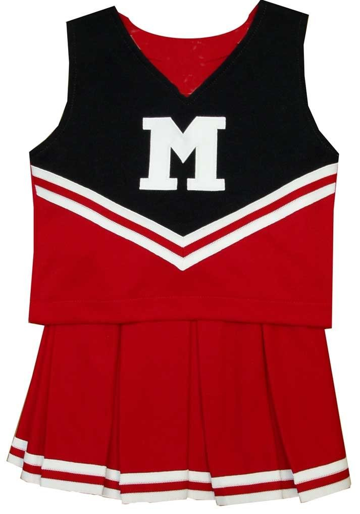 Maryland Terrapins Halloween Cheerleading Costumes