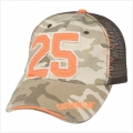 Caterpillar CAT Ladies #25 Mesh Orange Desert Camo Cap