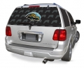 "Jacksonville Jaguars Glass Tatz NFL Logo """"Rearz"""" Back Windshield Graphic/Decal"