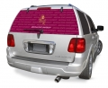 "Arizona State Sun Devils NCAA Logo """"Rearz"""" Back Windshield Graphic/Decal"