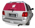 "Wisconsin Badgers NCAA Logo """"Rearz"""" Back Windshield Decal"