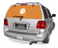 "Clemson Tigers NCAA Logo Glass Tatz """"Rearz"""" Back Windshield Graphic/Decal"