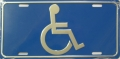 Handicap Logo License Plate