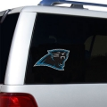 "Carolina Panthers Glass Tatz NFL Logo ""CUTZ"" Side Windshield Graphic/Decal"