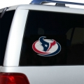 "Houston Texans Glass Tatz NFL Logo ""CUTZ"" Side Windshield Graphic/Decal"