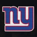 "New York Giants Glass Tatz NFL Logo ""CUTZ"" Side Windshield Graphic/Decal"