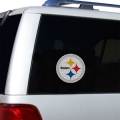 "Pittsburgh Steelers Glass Tatz NFL Logo ""CUTZ"" Side Windshield Graphic/Decal"