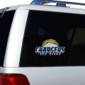 "San Diego Chargers Glass Tatz NFL Logo ""CUTZ"" Side Windshield Graphic/Decal"