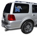 "Memphis Tigers NCAA Logo Glass Tatz """"Cutz"""" Window Graphic/Decals"