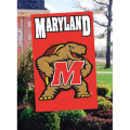 Maryland Terrapins Embroidered Vertical Outdoor Flag