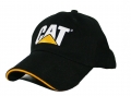 Caterpillar CAT.COM Black Sandwich Hat