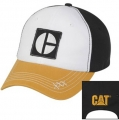Caterpillar CAT Heritage Gold Block C Bill Cap