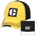 Caterpillar CAT Black & Gold Fitted M/L Heritage Cap