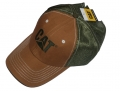 Caterpillar CAT Canvas Mesh Trucker Cap