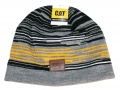 Caterpillar CAT Velocity Striped Winter Beanie Cap
