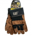 Caterpillar CAT Men's Size Large Split Leather Work Gloves