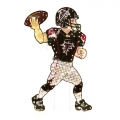 "Atlanta Falcons NFL 44"" Animated Lawn Figure"