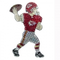 "Kansas City Chiefs NFL 44"" Animated Lawn Figure"