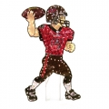 "Tampa Bay Buccaneers NFL 44"" Animated Lawn Figure"