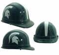 Michigan State Spartans NCAA OSHA Approved Hard Hat