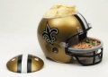 New Orleans Saints NFL Snack Helmet by Wincraft