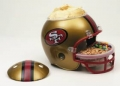 San Francisco 49ers NFL Snack Helmet by Wincraft