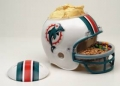Miami Dolphins NFL Snack Helmet by Wincraft