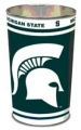 "Michigan State Spartans NCAA 15"" Tapered Wastebasket"