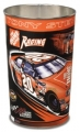 "Tony Stewart #20 NASCAR Logo 15"" Tapered Wastebasket"