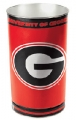 "Georgia Bulldogs NCAA 15"" Tapered Wastebasket"