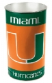 "Miami Hurricanes NCAA 15"" Tapered Wastebasket"