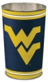 "West Virginia Mountaineers NCAA 15"" Tapered Wastebasket"