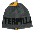 Caterpillar CAT Branded Grey Beanie Cap
