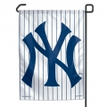 "New York Yankees 11"" x 15"" MLB Pinstripe Garden Flag"