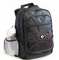 Georgia Bulldogs NCAA 2 Strap Laptop Backpack-FREE SHIPPING