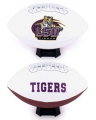 LSU Tigers Embroidered Signature Series Football