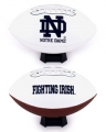 Notre Dame Fighting Irish Embroidered Signature Series Football