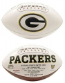 Green Bay Packers Embroidered Signature Series Football