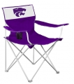 Kansas State Wildcats NCAA Canvas Tailgate Chair