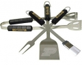 Purdue Boilermakers Stainless Steel BBQ Utensil Set