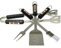 Oklahoma State Cowboys Stainless Steel BBQ Utensil Set